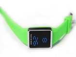 Rectangle Touch Screen Digital LCD Watch