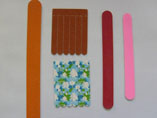 Promotion Matchbook Emery Nail File