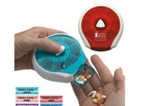 Hot Sell Plastic Medical Press-It Pill Dispenser