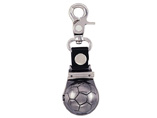 promotional Football style carabiner watch