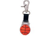 Basketball Pattern Carabiner Watch Keychain