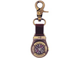 Customized Bronze Metal Carabiner Watch