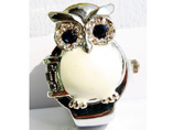 Owl Style Case Ring Watch