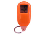 Large Display Plastic Promotional Keychain Clock