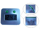 Custom Plastic Digital LCD Water Power Clock
