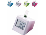 Advertising Colorful Desktop Water Powered Clock