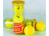 High Quality 3pcs 2.5 inch Tennis Balls