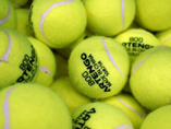 Custom Logo Training Tennis Balls