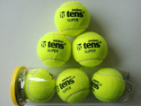 Promotion imprinted logo 3pcs Tennis Balls