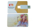 Personalized wallet card paper USB webkey