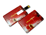 Wholesale Christmas gifts plastic card webkey