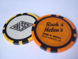 Professinoal Poker Chips with Sticker