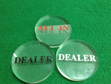 Wholesale Casino Dealer Button