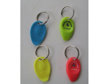 Plastic Lottery Sratcher Keychain