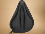 Gel padded bike seat cover