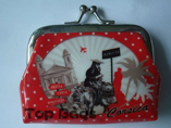 Full colour printed clutch coin purse