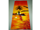 Bright Color Full Printed Beach Towel