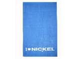 Solid color terry cotton beach towel