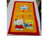 Cartoon velour reactive beach towel