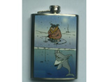 Hip Flask With Water Transfer Printing