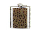 Wholesale Leather Wrapped Liquor Flask