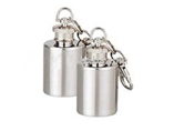 Promotional Keyring Round Mini Hip Flask