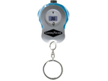 Digital tire pressure gauge keyring