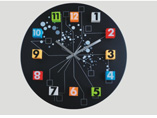 Magnetic Suspension Printed Wall Clock