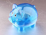 Customized Plastic Piggy Bank