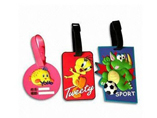 Promotional Soft PVC Rubber Luggage Tag
