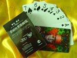 Custom Logo waterproof poker card