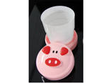 Advertising Piggy Folding Cups