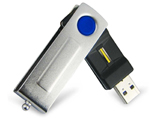 Twist Biometric Fingerprint USB memory