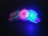 Domed Logo Flashing Badges
