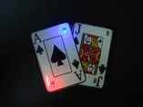 Promotional Poker Flashing Badges