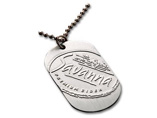Promotion custom metal dog tag