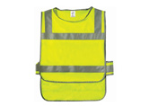 Fluorescent Lime Reflective Garment