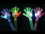 Glowing hand clapper for concert