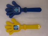 Custom imprint logo party hand clacker