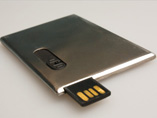 Metal Card Shaped USB stick