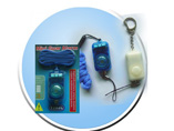 Panic Guard Alarm With U.V. Light