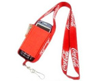 Polyester Lanyard with Mobile Phone Holder