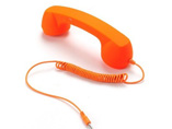 Advertising Retro Phone Handset