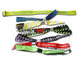 Personalized Woven Wristbands