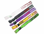 Discounted Woven Fabric Wristbands