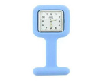 Promotional Square Nurse Silicone Fob Watch