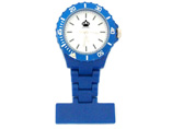 Blue Round Nurse Fob Watch
