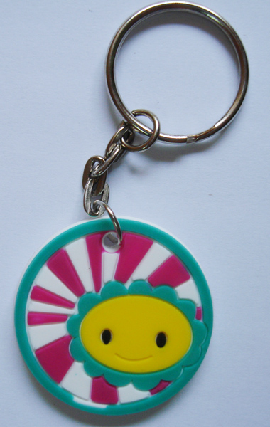Lovely Promotional Soft PVC Keychain