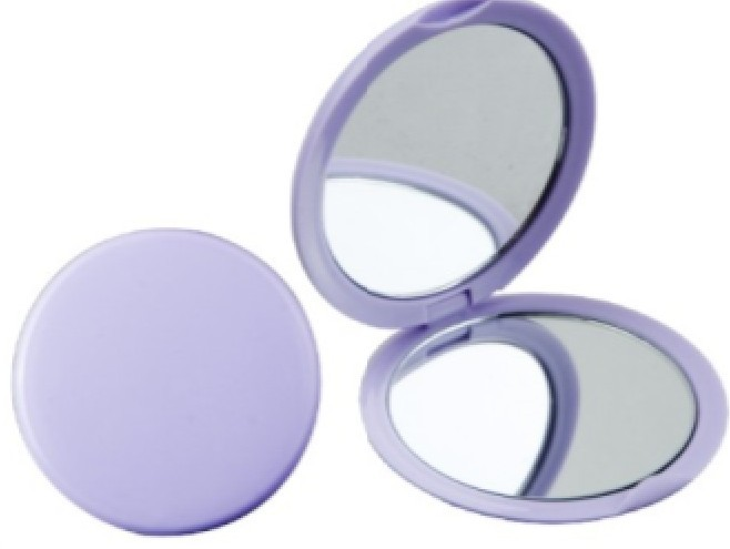 Two Sides Compact Round Shape Promotional Mirror