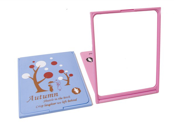 Wholesale Promotional Squared Shape Mirror